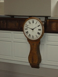 Wesley Clock at the New Room