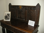 Headboard from John Wesley's Bed at Burned Rectory