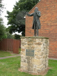 John Wesley Statue Epworth by Ken Boyd