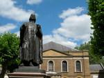 City Road Chapel and John Wesley Statue