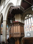 Pulpit at St. Mary's Church